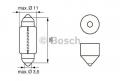 Żarówka C5W 24V 5W rurka krótka
