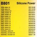 Przewody zapłonowe Bosch Silicone Power B801